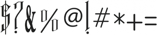 VTKS FREE SOUL ttf (400) Font OTHER CHARS