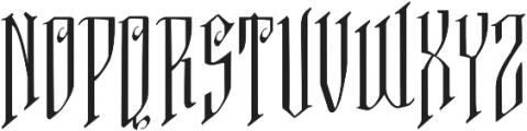 VTKS FREE SOUL ttf (400) Font UPPERCASE