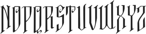 VTKS FREE SOUL ttf (400) Font LOWERCASE