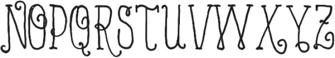 VTKS MINDFULNESS v2 ttf (400) Font UPPERCASE