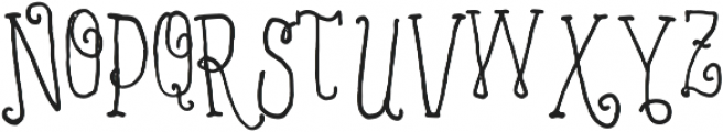 VTKS MINDFULNESS v3 ttf (400) Font UPPERCASE