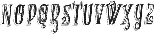 VTKS RECOVER MB 1 ttf (400) Font UPPERCASE