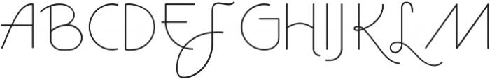 Vtks Avante ttf (400) Font LOWERCASE