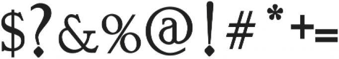 Vtks Bandoleones Bold ttf (700) Font OTHER CHARS