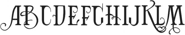 Vtks Bandoleones Bold ttf (700) Font LOWERCASE