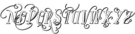Vtks Bandoleones2 ttf (400) Font UPPERCASE