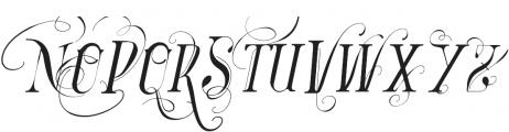 Vtks Bandoleones4 ttf (400) Font UPPERCASE