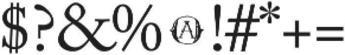 Vtks Contrast ttf (400) Font OTHER CHARS