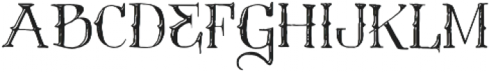Vtks Contrast ttf (400) Font UPPERCASE