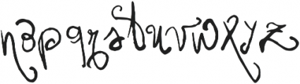 Vtks Friaka ttf (400) Font LOWERCASE