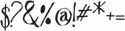 Vtks Krueza ttf (400) Font OTHER CHARS