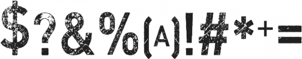 Vtks MRD67 ttf (400) Font OTHER CHARS