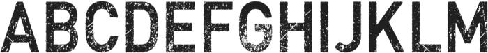 Vtks MRD67 ttf (400) Font UPPERCASE