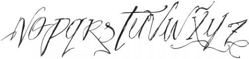Vtks Pedra Azul ttf (400) Font LOWERCASE
