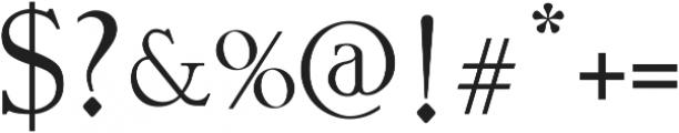 Vtks Premium 2 ttf (400) Font OTHER CHARS