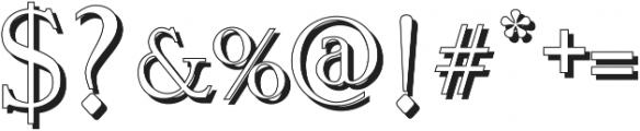Vtks Premium 3 ttf (400) Font OTHER CHARS