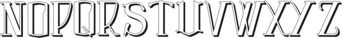 Vtks Premium 3 ttf (400) Font UPPERCASE