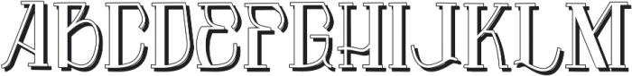 Vtks Premium 3 ttf (400) Font LOWERCASE