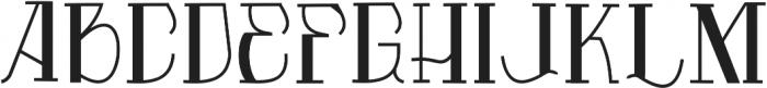 Vtks Premium ttf (400) Font UPPERCASE