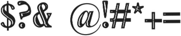 Vtks Service ttf (400) Font OTHER CHARS