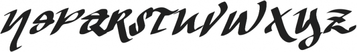 Vtks The Dark ttf (400) Font UPPERCASE