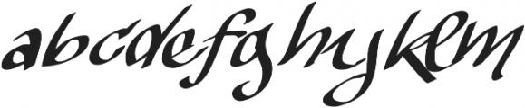 Vtks The Dark ttf (400) Font LOWERCASE