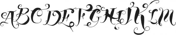Vtks Young Spirit ttf (400) Font UPPERCASE