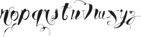 Vtks Young Spirit ttf (400) Font LOWERCASE