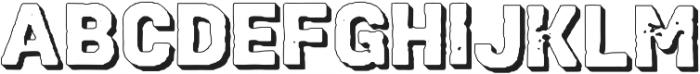 VtksHeavyDuty2 ttf (800) Font UPPERCASE