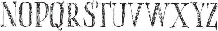 vtks easywork ttf (400) Font UPPERCASE