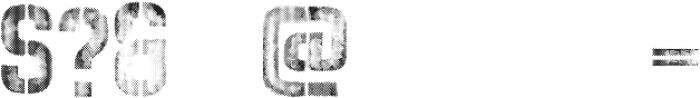vtks rust ttf (400) Font OTHER CHARS