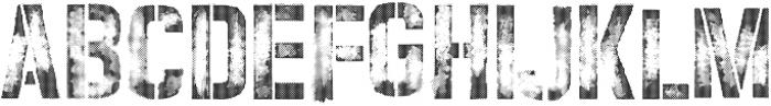 vtks rust ttf (400) Font UPPERCASE