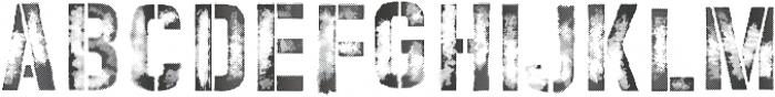 vtks rust ttf (400) Font LOWERCASE