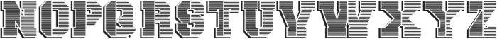 vtks university ttf (400) Font UPPERCASE