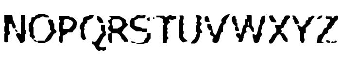 VTC AllWashedUp Regular Font UPPERCASE