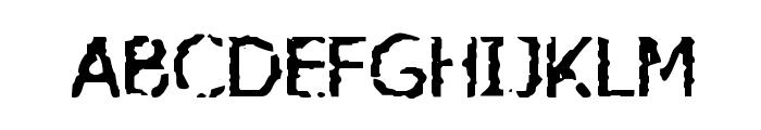VTC AllWashedUp Regular Font LOWERCASE