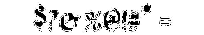VTC AntiqueFizz Reguar Font OTHER CHARS