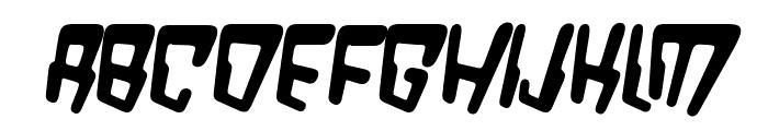 VTC Bad DataTrip Bold Italic Font UPPERCASE