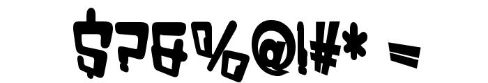 VTC Bad DataTrip Bold Font OTHER CHARS