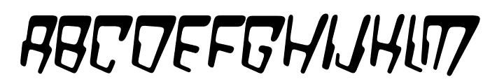 VTC Bad DataTrip Regular Italic Font UPPERCASE