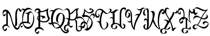 VTC-BadEnglischOne Font UPPERCASE
