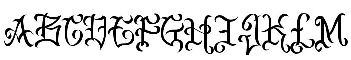VTC-BadEnglischOne Font LOWERCASE