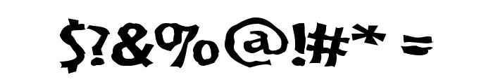 VTC BadPaint Regular Font OTHER CHARS