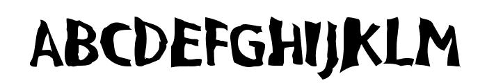 VTC BadPaint Regular Font LOWERCASE
