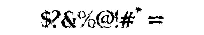 VTC Boseephus Regular Font OTHER CHARS