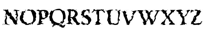 VTC Boseephus Regular Font UPPERCASE