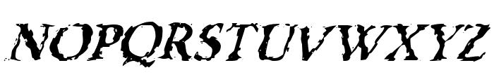 VTC Boseephus RegularItalic Font UPPERCASE