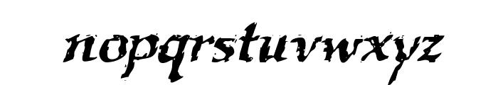 VTC Boseephus RegularItalic Font LOWERCASE