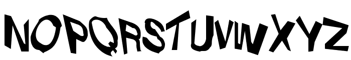 VTC Dizplaced Regular Font UPPERCASE