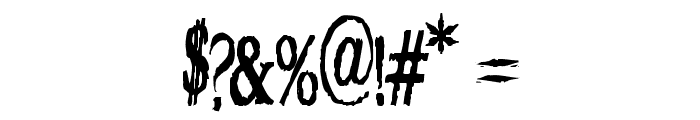 VTC Embrace Regular Font OTHER CHARS